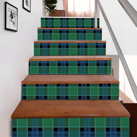 Scottishshop Tartan Stair Stickers - Graham of Menteith Ancient Stair Stickers A91