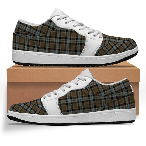 Image of Graham of Menteith Weathered Tartan Low Sneakers (Women's/Men's) A7