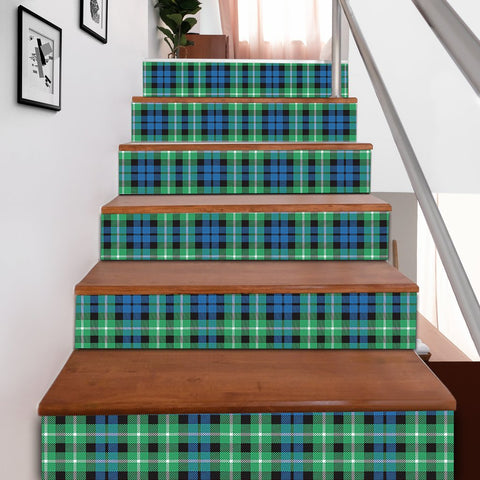 Scottishshop Tartan Stair Stickers - Graham of Montrose Ancient Stair Stickers A91