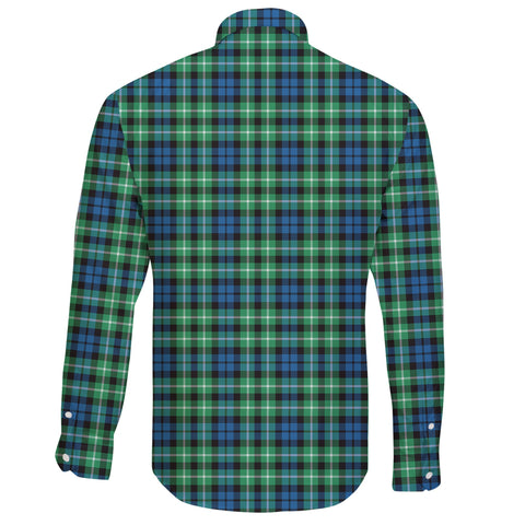 Image of Graham of Montrose Ancient Tartan Clan Long Sleeve Button Shirt A91