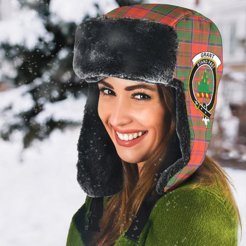 Image of Grant Ancient Tartan Trapper Hat