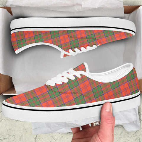 Grant Ancient Tartan Like Vans Lace Shoes (Women's/Men's) A7