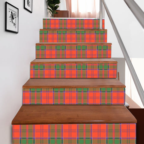 Image of Scottishshop Tartan Stair Stickers - Grant Ancient Stair Stickers A91
