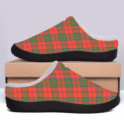 Grant Ancient Tartan Fleece Slipper (Women's/Men's) A7