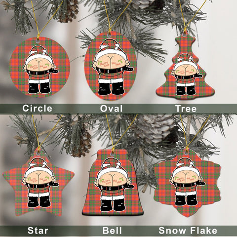 Grant Ancient Tartan Christmas Decor - Ross Ceramic Ornament - Funny Style A7