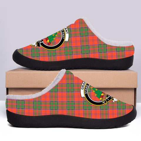 Grant Ancient Crest Tartan Fleece Slipper (Women's/Men's) A7
