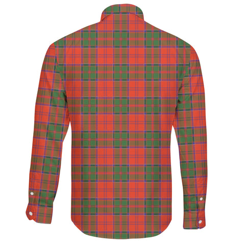Image of Grant Ancient Tartan Clan Long Sleeve Button Shirt A91