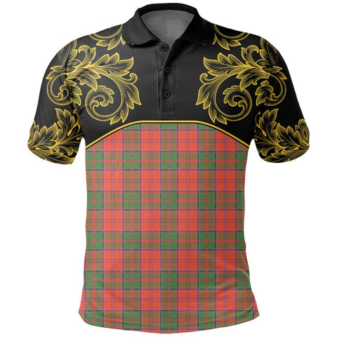 Grant Ancient Tartan Clan Crest Polo Shirt - Empire I - HJT4 - Scottish Clans Store - Tartan Clans Clothing - Scottish Tartan Shopping - Clans Crest - Shopping In scottishclans - Polo Shirt For You