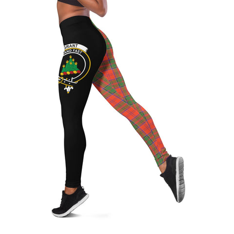 Image of Grant Ancient Crest Tartan Leggings | Over 500 Tartans | Special Custom Design