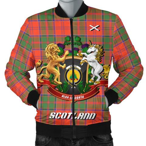 Image of Grant Ancient | Tartan Bomber Jacket | Scottish Jacket | Scotland Clothing