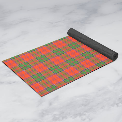 Grant Ancient Clan Tartan Yoga mats