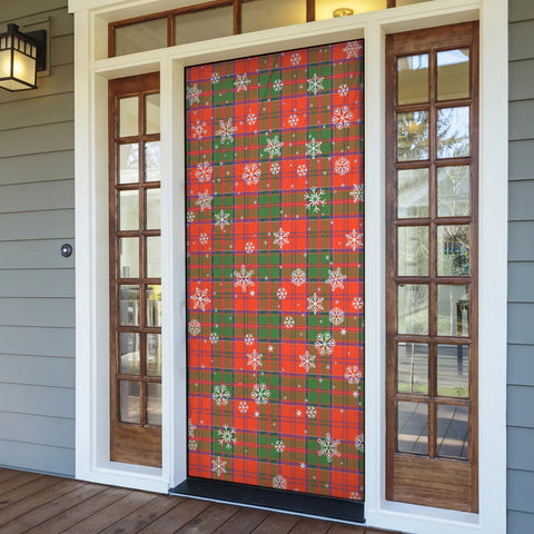 Grant Ancient Christmas Tartan Door Sock Cover