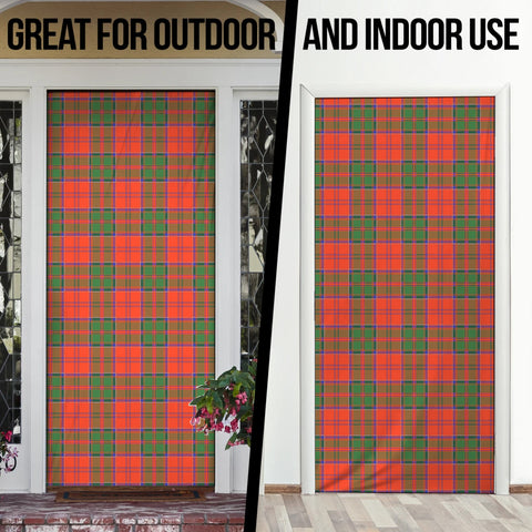 Grant Ancient Tartan Door Sock Cover