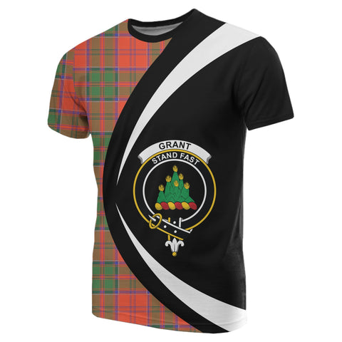 Grant Ancient Tartan T-shirt Circle HJ4