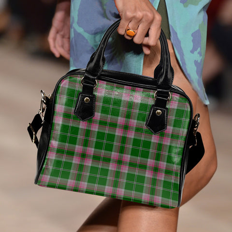 Gray Hunting Tartan Shoulder Handbag for Women | Hot Sale | Scottish Clans