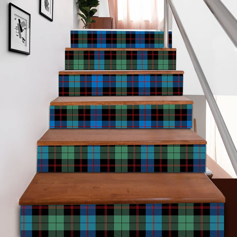 Scottishshop Tartan Stair Stickers - Guthrie Ancient Stair Stickers A91