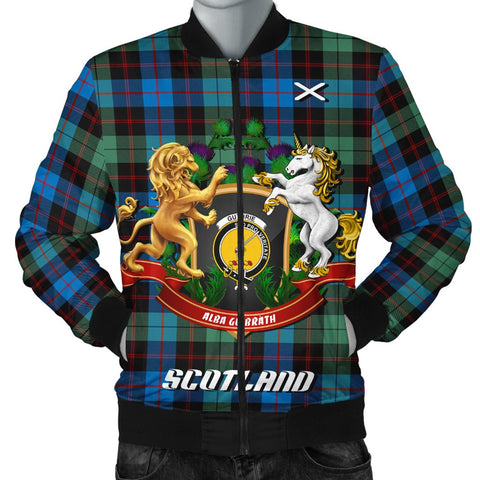 Image of Guthrie Ancient | Tartan Bomber Jacket | Scottish Jacket | Scotland Clothing
