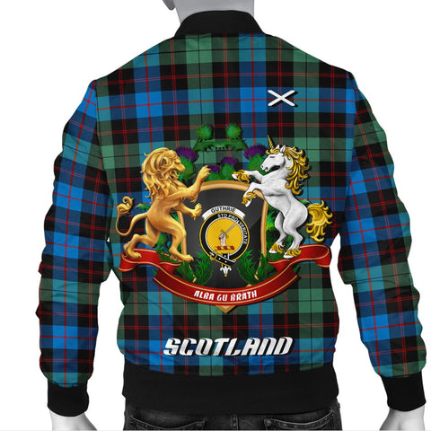 Guthrie Ancient | Tartan Bomber Jacket | Scottish Jacket | Scotland Clothing