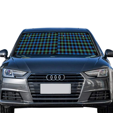 Image of Guthrie Ancient Clan Tartan Scotland Car Sun Shade 2pcs