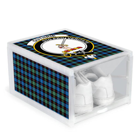 Guthrie Ancient Clan Crest Tartan Scottish Shoe Organizers