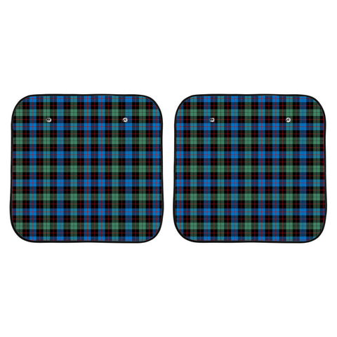 Image of Guthrie Ancient Clan Tartan Scotland Car Sun Shade 2pcs K7