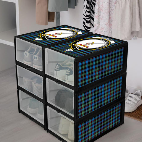 Image of Guthrie Ancient Clan Crest Tartan Scottish Shoe Organizers K9