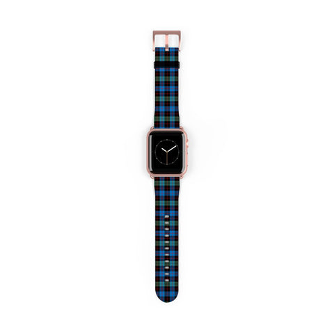 Image of Guthrie Ancient Scottish Clan Tartan Watch Band Apple Watch