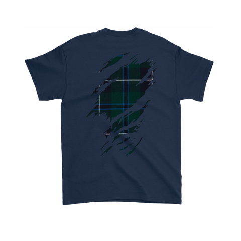 Image of Douglas Modern Lives in me Tartan T Shirt K7