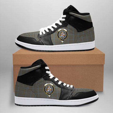 Image of Haig Check Clan Crest Tartan Jordan Sneaker (Women's/Men's) A7