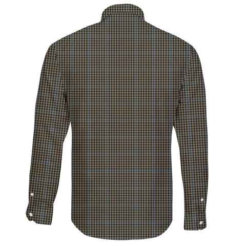 Haig Check Tartan Clan Long Sleeve Button Shirt A91