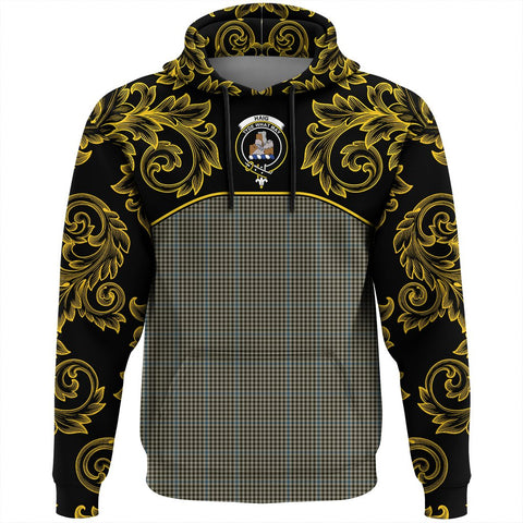 Haig Check Tartan Clan Crest Hoodie - Empire I - HJT4 - Scottish Clans Store - Tartan Clans Clothing - Scottish Tartan Shopping - Clans Crest - Shopping In scottishclans - Hoodie - Pullover For You