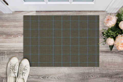 Haig Check Tartan Carpets Front Door A91