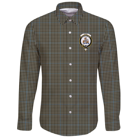 Haig Check Tartan Clan Long Sleeve Button Shirt | Scottish Clan