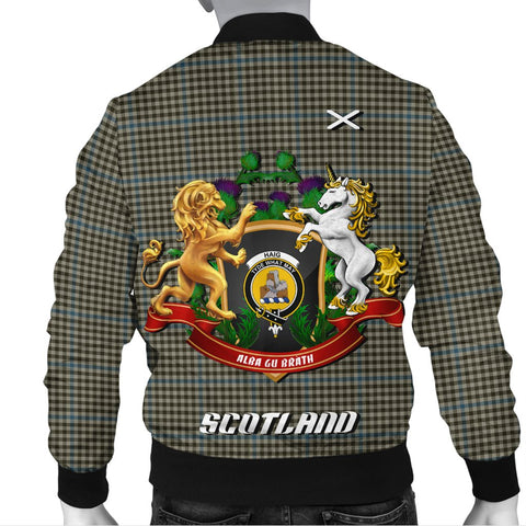Haig Check | Tartan Bomber Jacket | Scottish Jacket | Scotland Clothing