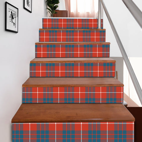 Image of Scottishshop Tartan Stair Stickers - Hamilton Ancient Stair Stickers A91