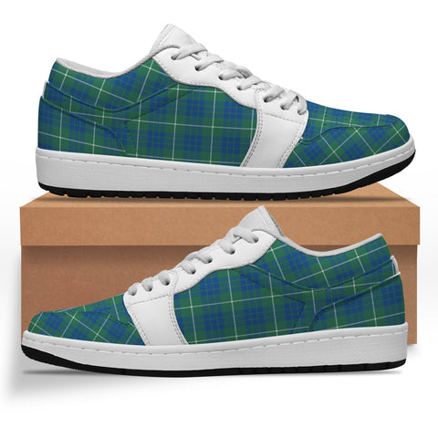 Image of Hamilton Hunting Ancient Tartan Low Sneakers (Women's/Men's) A7