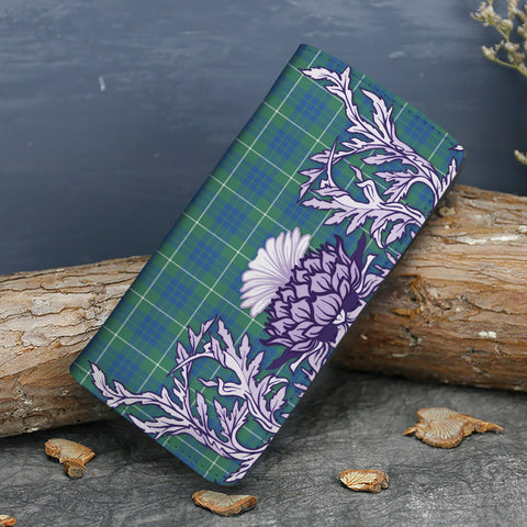 Hamilton Hunting Ancient Tartan Wallet Women's Leather Thistle A91
