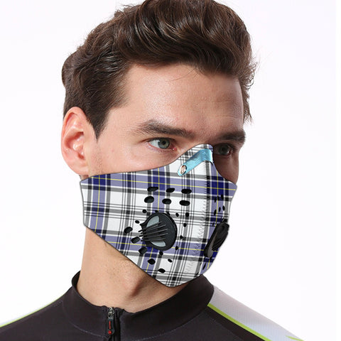 Hannay Modern Tartan Dust-proof Sports Masks ( Model 1) - TH88 (USA Shipping Line)