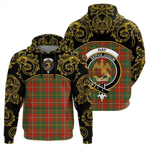 Image of Hay Ancient Tartan Clan Crest Hoodie - Empire I - HJT4