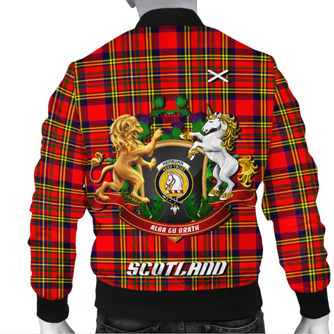 Hepburn | Tartan Bomber Jacket | Scottish Jacket | Scotland Clothing
