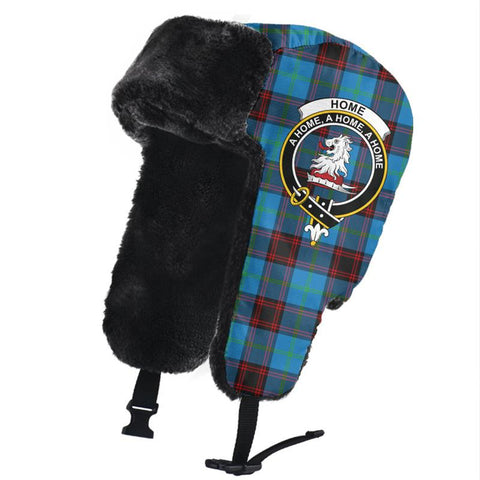 Image of Home Ancient Clan Crest Tartan Trapper Hat