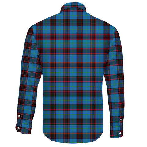 Image of Home Ancient Tartan Clan Long Sleeve Button Shirt A91