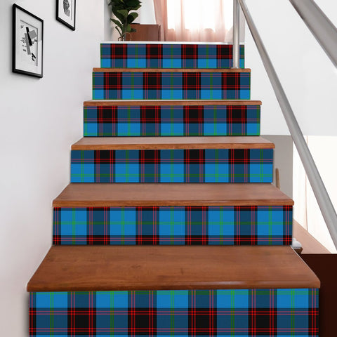 Scottishshop Tartan Stair Stickers - Home Ancient Stair Stickers A91