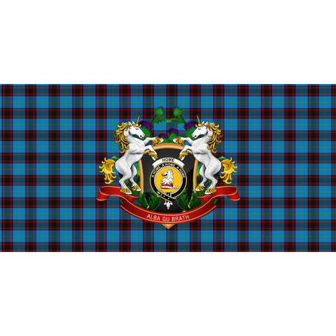 Home Ancient Crest Tartan Tablecloth Unicorn Thistle A30