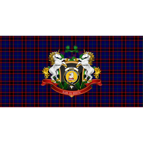 Image of Home Modern Crest Tartan Tablecloth Unicorn Thistle A30