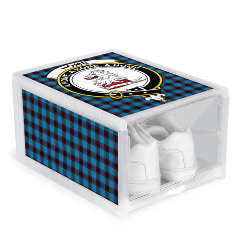Image of Home Ancient Clan Crest Tartan Scottish Shoe Organizers