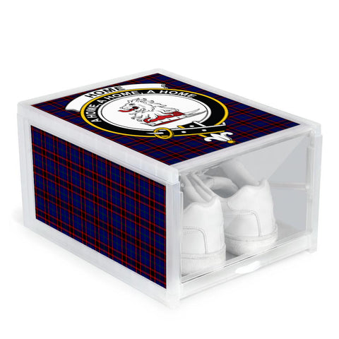 Home Modern Clan Crest Tartan Scottish Shoe Organizers