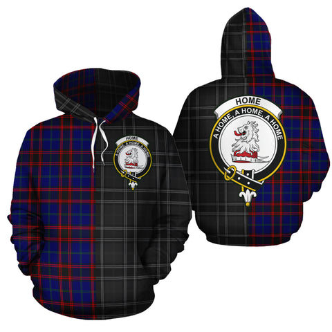 Home Modern Clan Half Of Me New Version Crest Tartan Hoodie