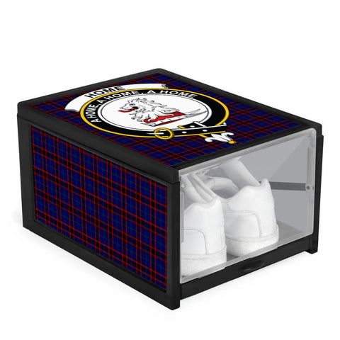Home Modern Clan Crest Tartan Scottish Shoe Organizers K9