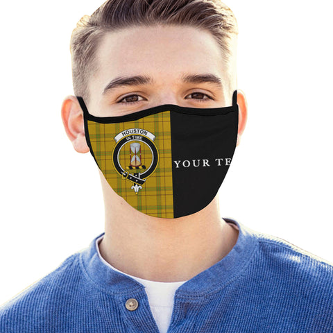 Houston Tartan Mouth Mask The Half (Custom) Th88